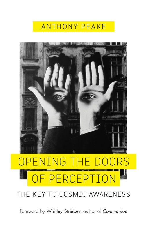 Opening The Doors Of Perception Anthony Peake