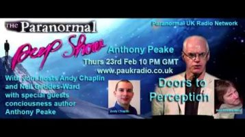 Paranornal Peep Show – Anthony Peake