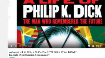 New Philip K. Dick Video on You Tube