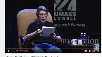 Stephen King does ITLAD (sort-of!)