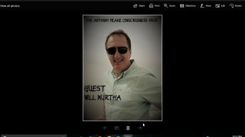 The Anthony Peake Consciouness Hour: Near Death Experience With Author Will Murtha